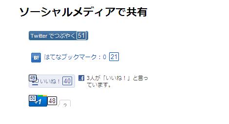 Mouseless Browsing を使うと、Facebook の「いいね!」ボタンや Google の「+1」ボタンもキーボードで「押す」ことが可能。