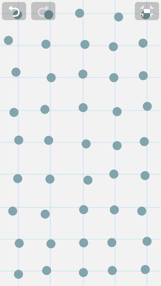 iPhone における「fat finger」の可視化の例