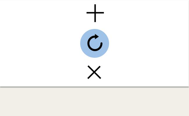 Pull to refresh の機能拡張は縦方向に並べる。