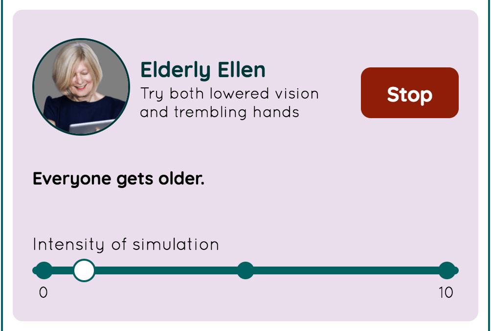 Elderly Ellen の画面